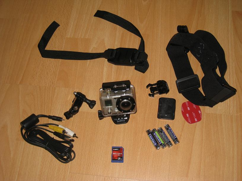 [VENDU]Camera GoPro et accessoires 100 euros Gopro